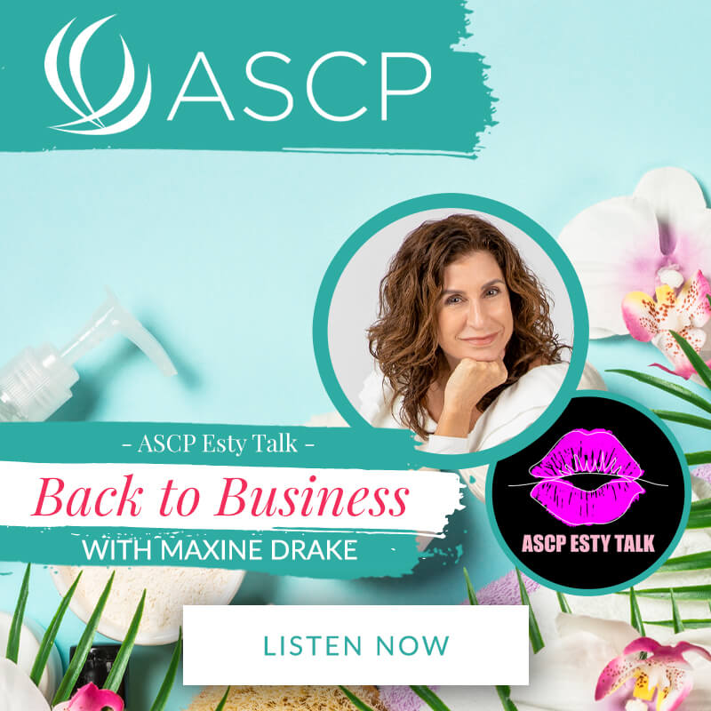 ASCP Esty Talk with Maxine Drake podcast interview