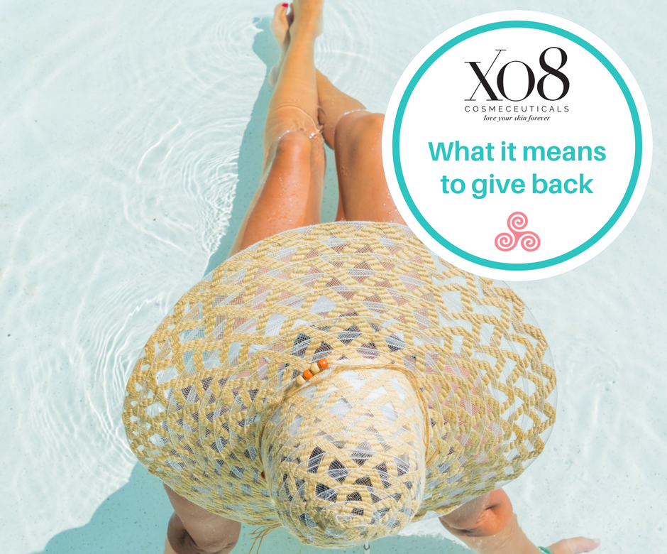 XO8 giving back to the Beauty Business Summit