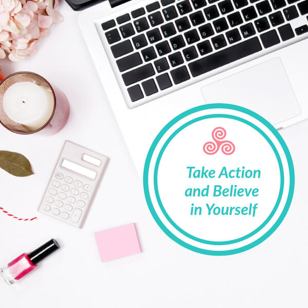 maxine drake esthetician coach take immediate action and believe in yourself
