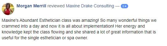 maxine drake consulting - morgan merrill