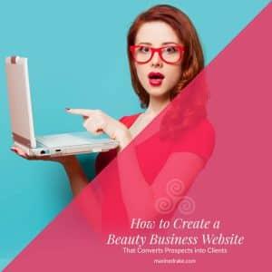 beauty business website maxine drake