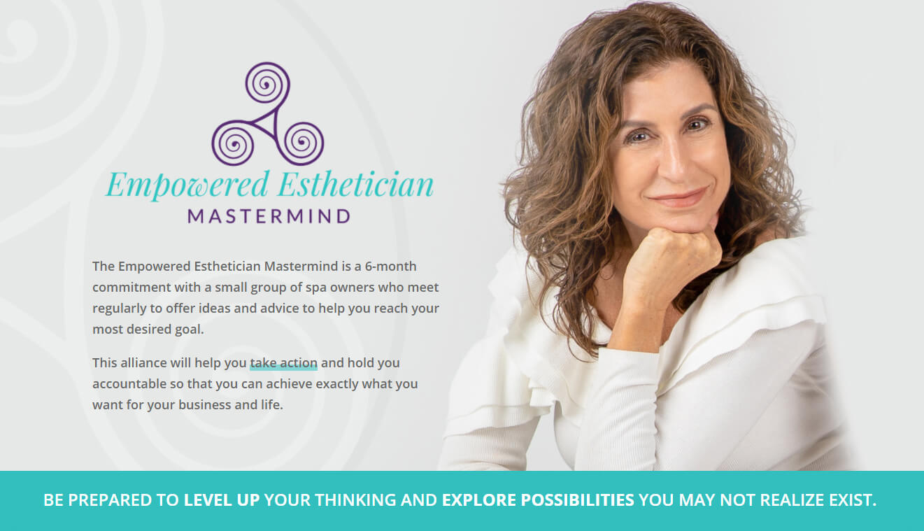 empowered esthetician mastermind with maxine drake