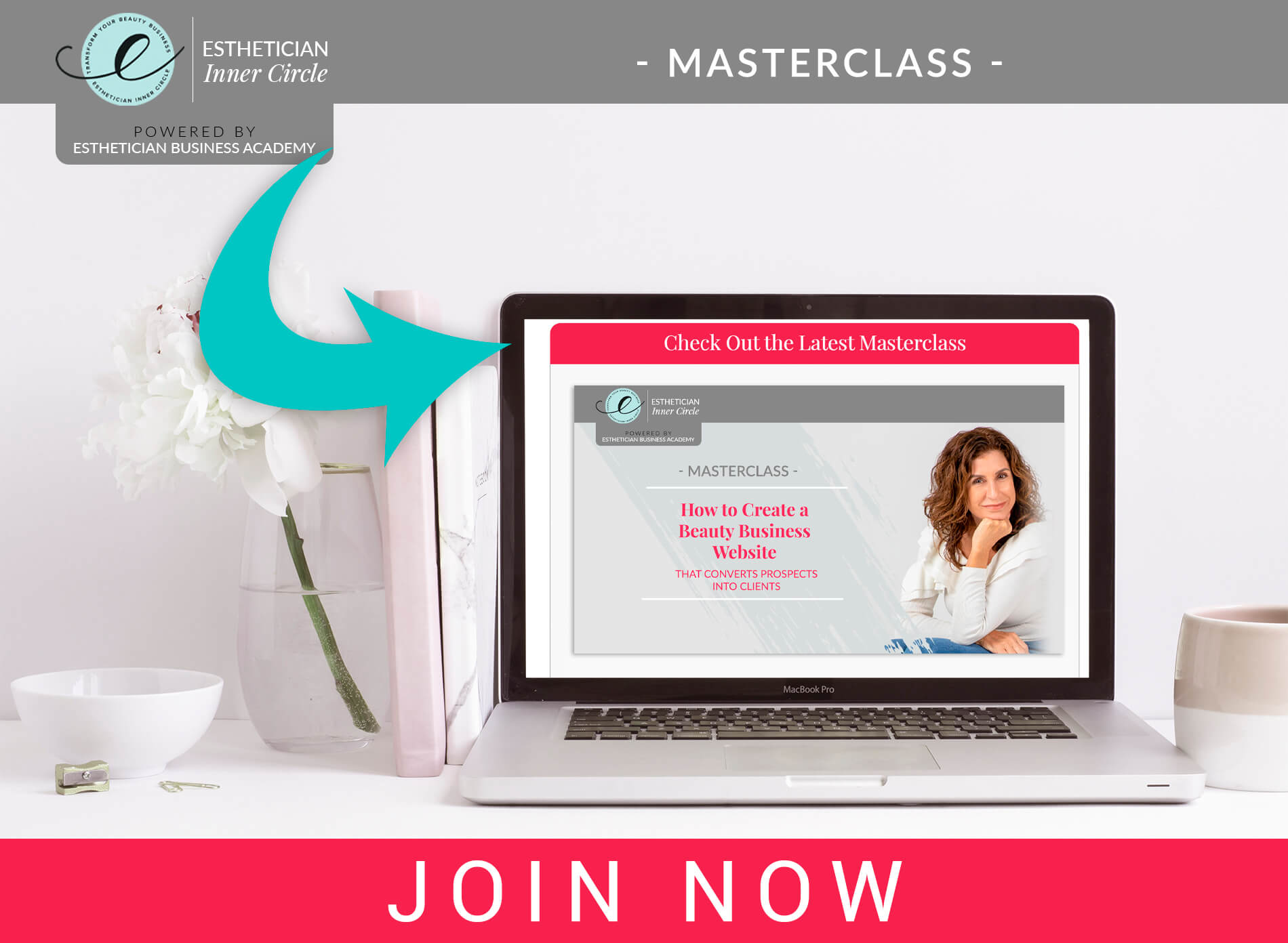 eic mockup beauty business website masterclass