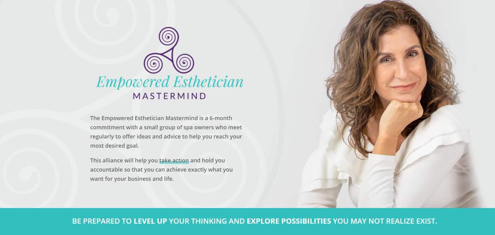 empowered esthetician mastermind maxine drake