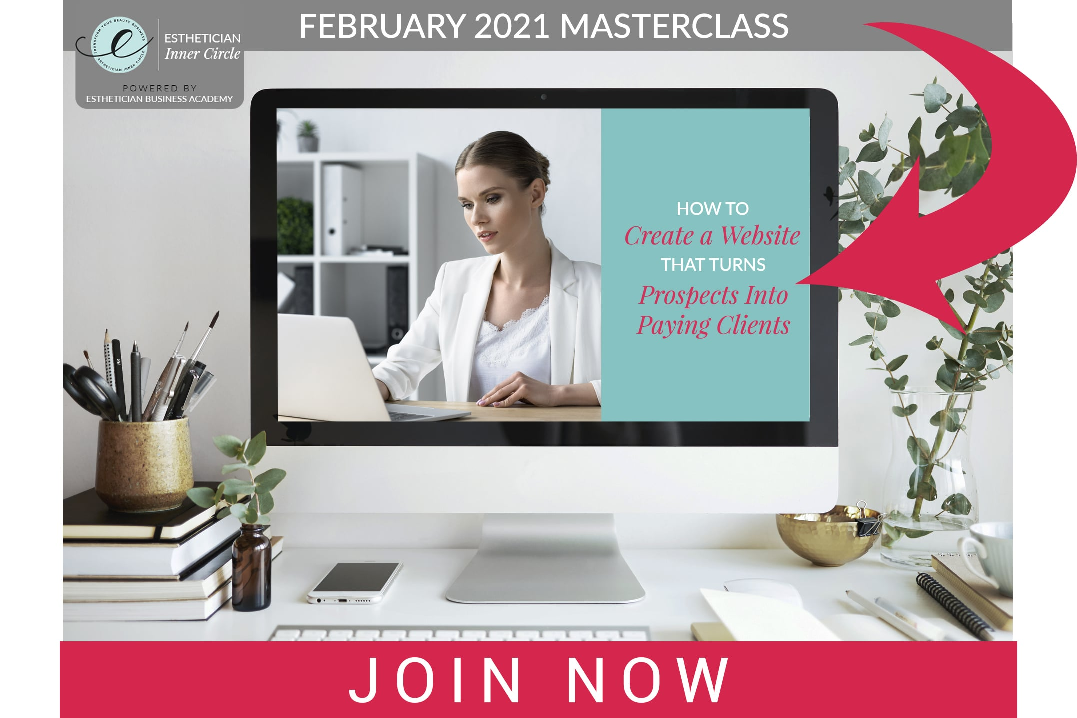 Esthetician Inner Circle Masterclass - Create a Website That Converts Clients