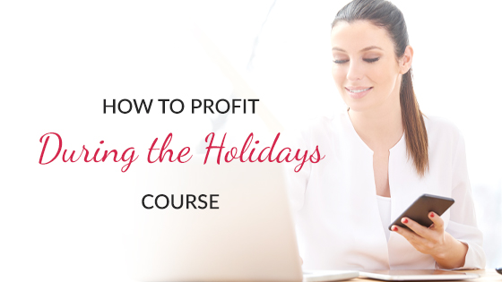 how to profit during the holidays esthetician course by maxine drake