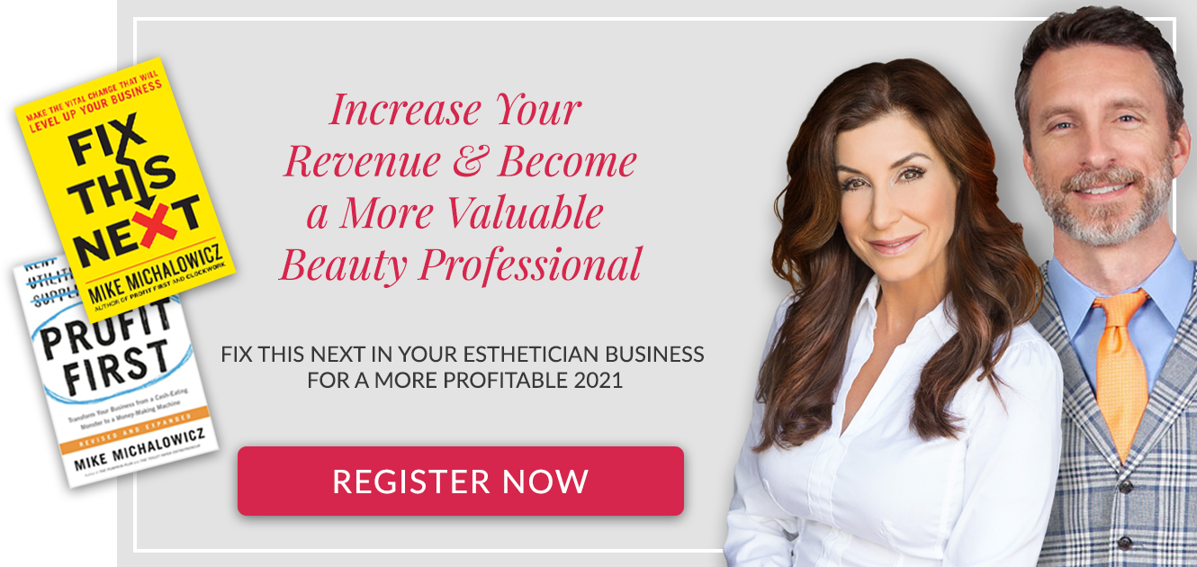 identify the biggest problem in your esthetician business with mike michalowicz